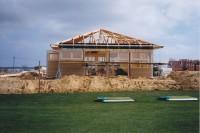 Der Bau des heutigen Clubhauses kam gut voran und konnte 1995 eingeweiht werden.