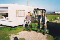 Auch das Greenkeepingteam war mit modernsten Maschinen gerüstet.